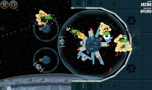 Snapshot of Angry Birds Star Wars