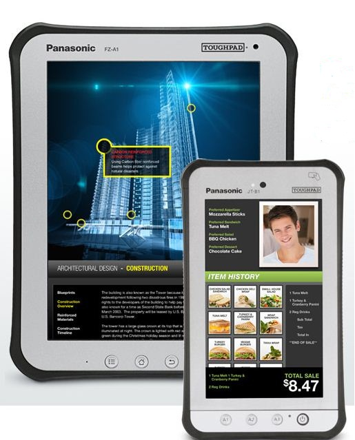 Pansonic toughpad android tablets
