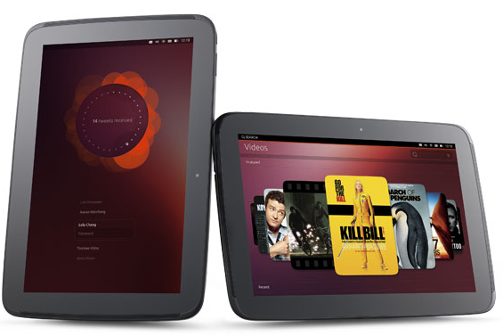 Ubuntu Linux on Tablet