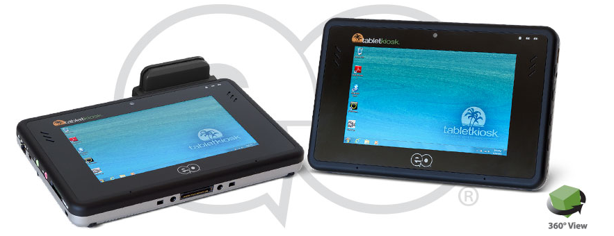 TabletKiosk, A great tablet for gamers and industrial applications