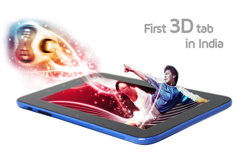 First 3D Tab In India, Swipe 3D Life+
