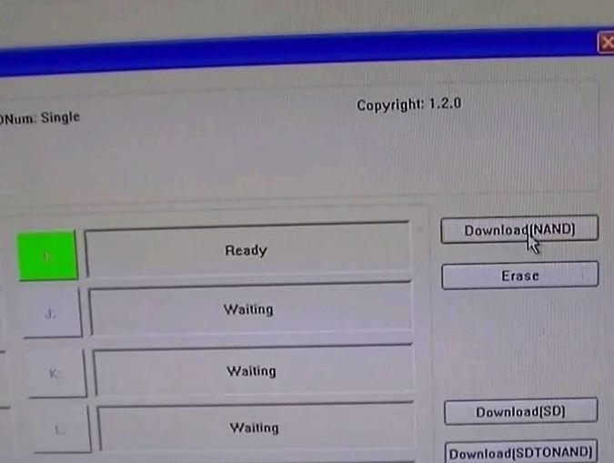 MPTool for BSNL tablet