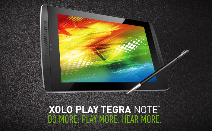 XOLO Play Tegra Note Tablet, Game on!