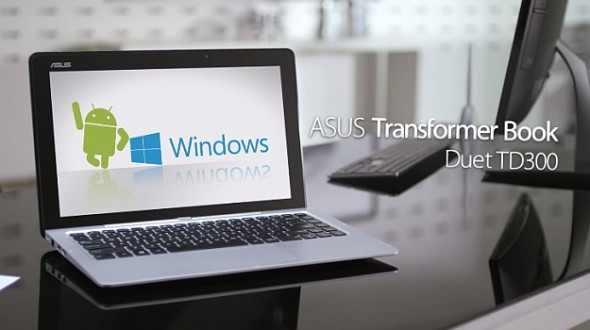 Asus Transformer Book-Duet TD300