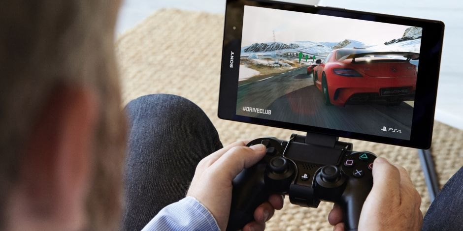 playstation on sony tablet