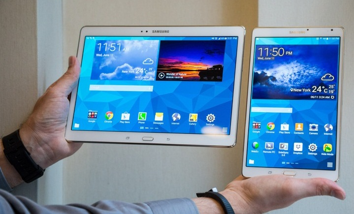 Samsung upcoming tablets