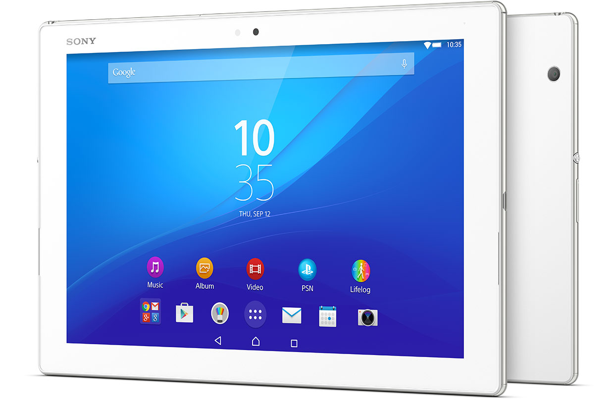 Upcoming Sony Xperia Z4 Tablet
