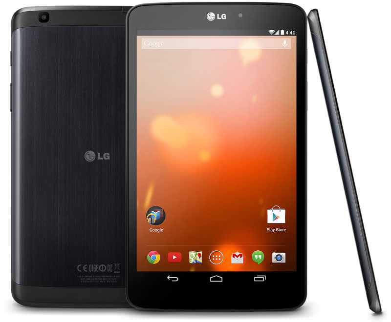 Upcoming & Latest LG Tablet PC