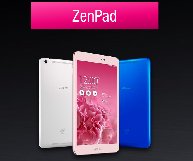 Asus Zenpad 8 Tablet: Powered by Intel