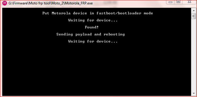 Moto Frp Unlock tool