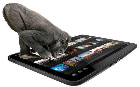 Gorilla Glass- Tablet PC touch screen technology