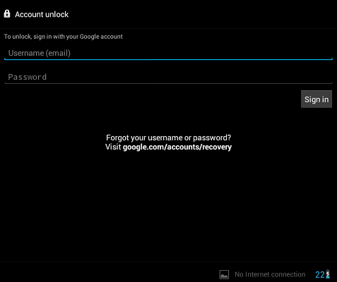 android password recovery program