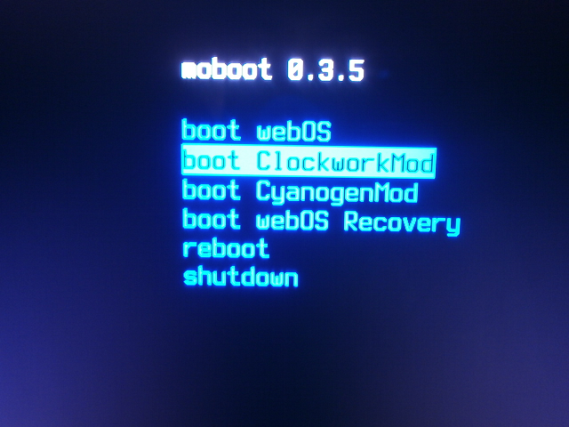 Boot Screen after Install