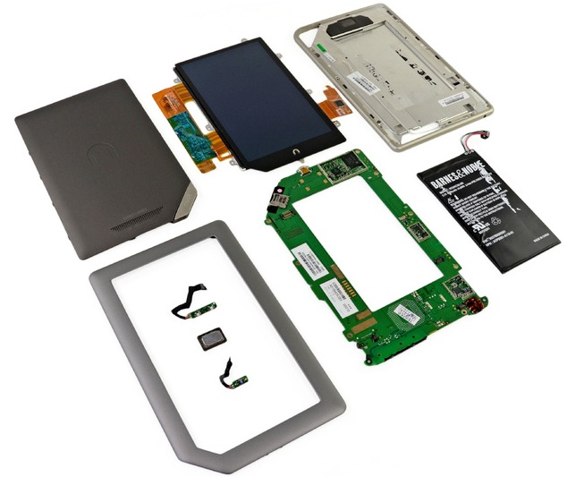 Tablet hardware components