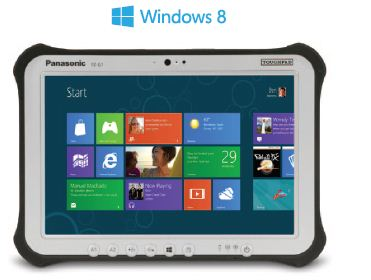 Panasonic toughpad windows tablet