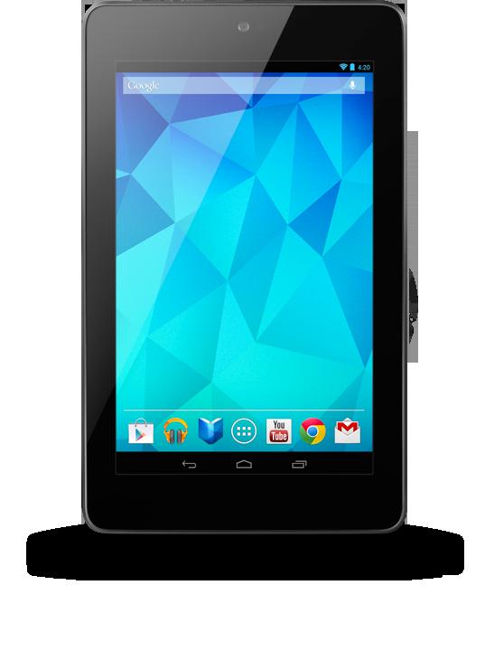 Google Nexus 7 new  Wireless charging! Extraneous display