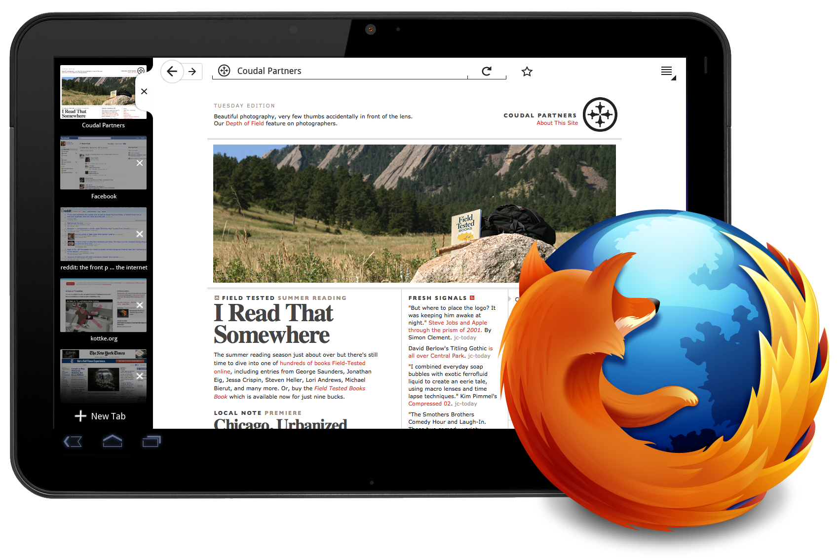 Foxconn Firefox Tab NEWS