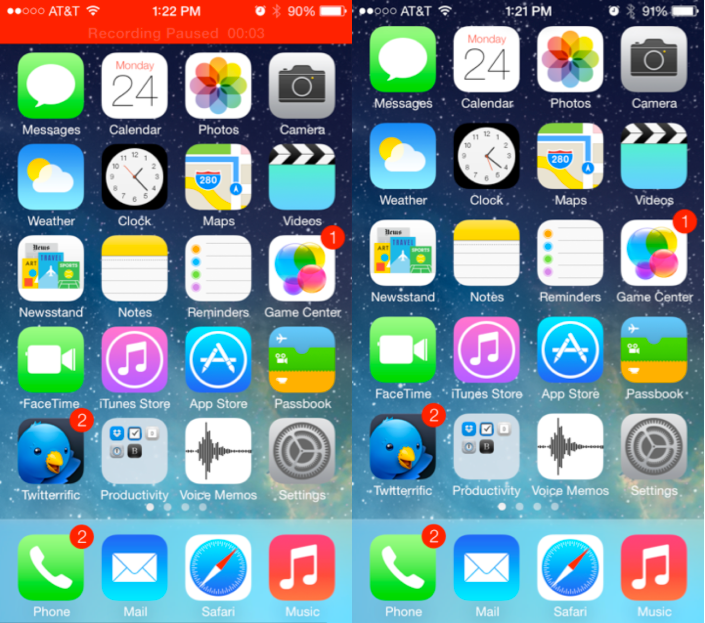 iOS 7 Updates for iPad and iPad Mini released
