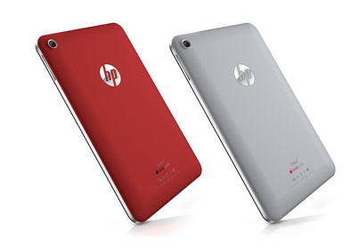The HP Slate 7 is available in 2 soft shade colors that are pleasing to the eye