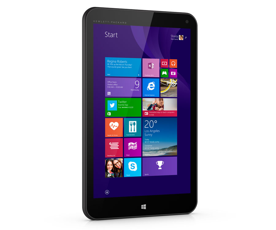 Hp stream tablet, Windows 8.1