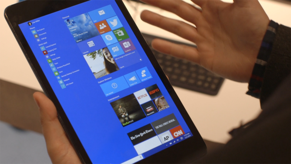 Microsoft Windows 10 Tablets