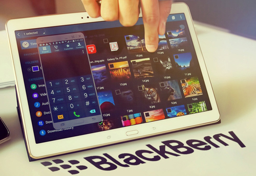 Blackberry Secutablet design