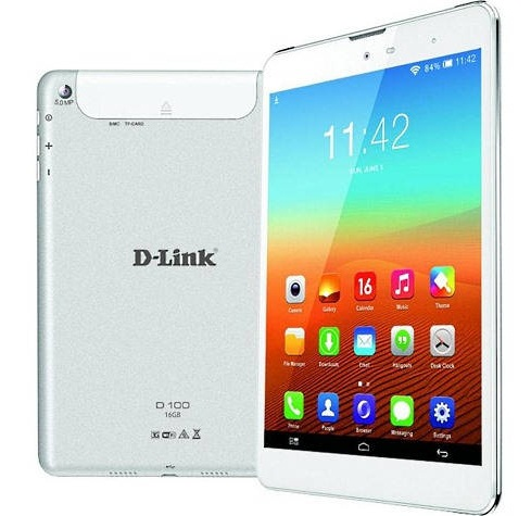 D-link d100 voice calling tablet launched