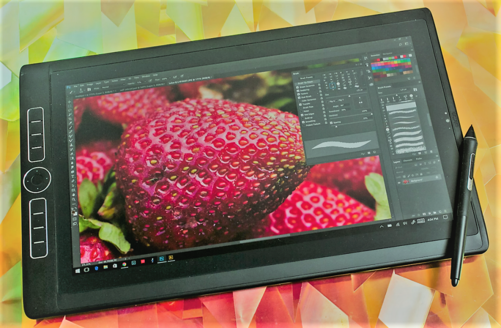 tablet video image editing